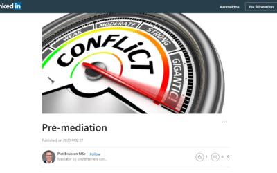 Pre-mediation